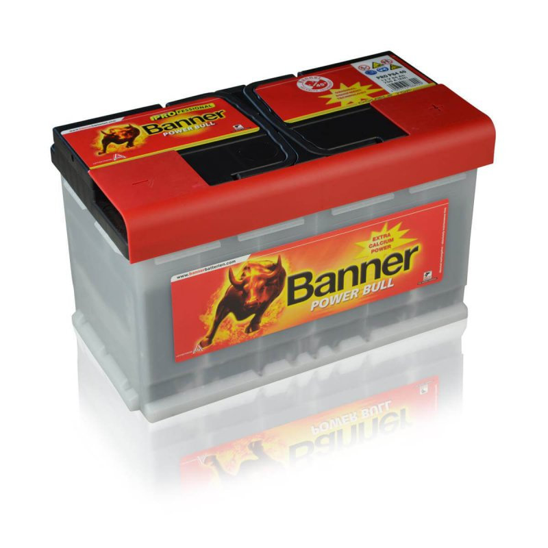 Banner P8440 Power Bull PROfessional 84Ah Autobatterie
