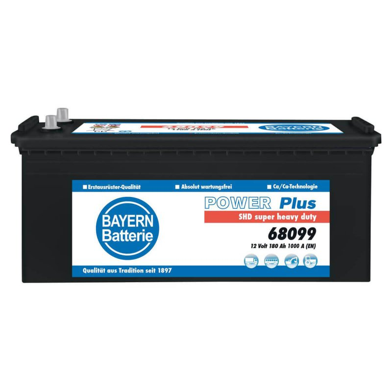 Bayern Batterie Power Plus SHD 180Ah LKW-Batterie