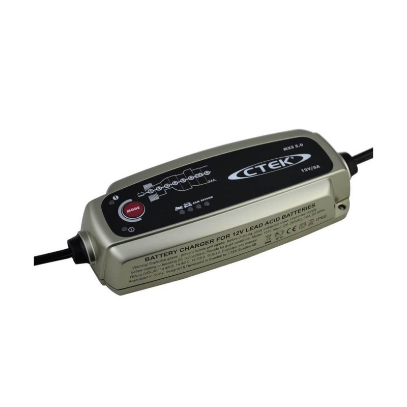 ctek mxs 5 0 batterieladeger t 5a mit automatischem temperatura. Black Bedroom Furniture Sets. Home Design Ideas