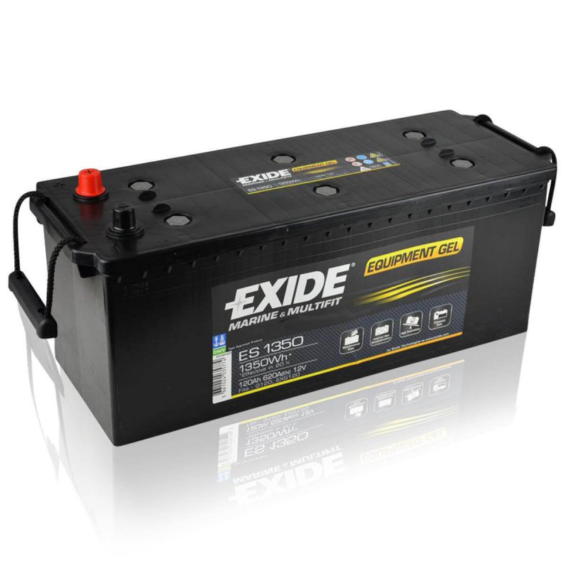 Exide ES1350 Equipment Gel (Gel G120) 120Ah