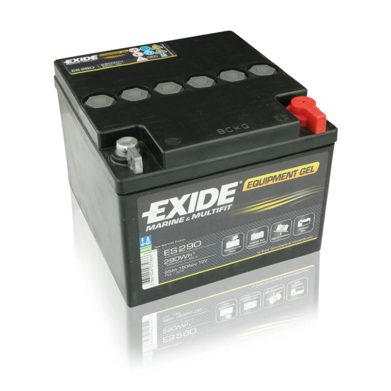 Exide ES290 Equipment Gel (Gel G25) 25Ah