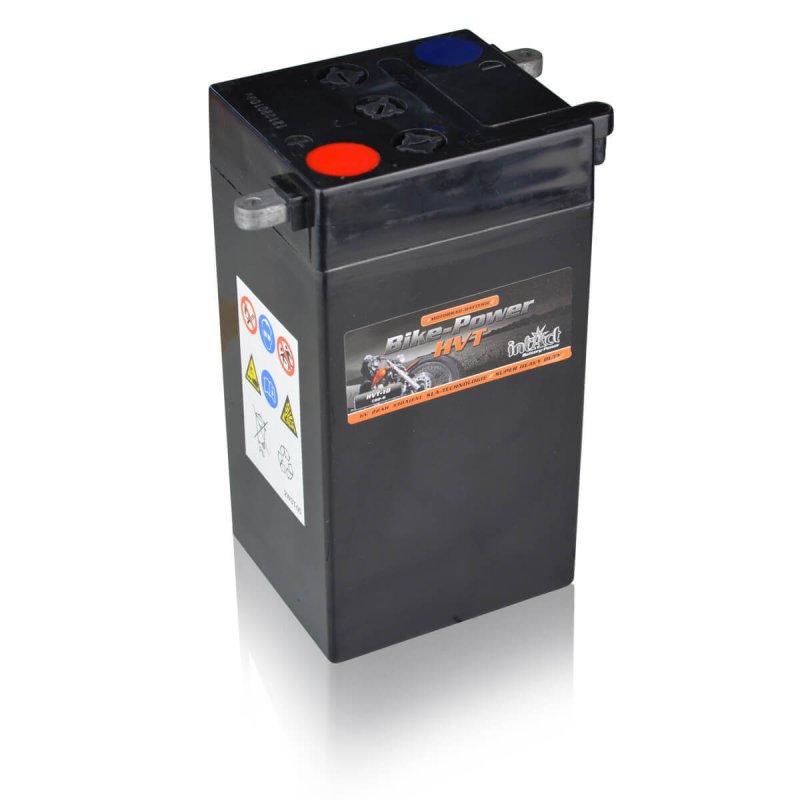intact motorradbatterie bike power hvt hvt 10 22ah 6v trocken din 02214 yb2 6. Black Bedroom Furniture Sets. Home Design Ideas