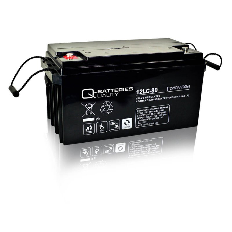 Q-Batteries 12LC-80 Deep Cycle 80Ah