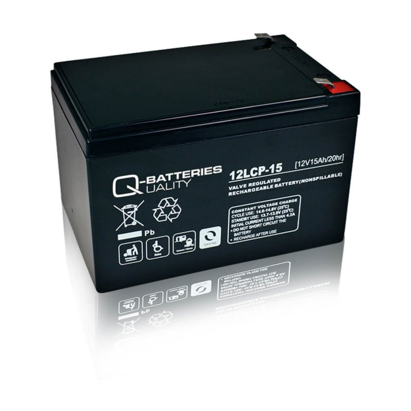 Q-Batteries 12LCP-15 Deep Cycle 15Ah