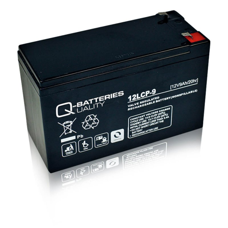 Q-Batteries 12LCP-9 Deep Cycle 9Ah