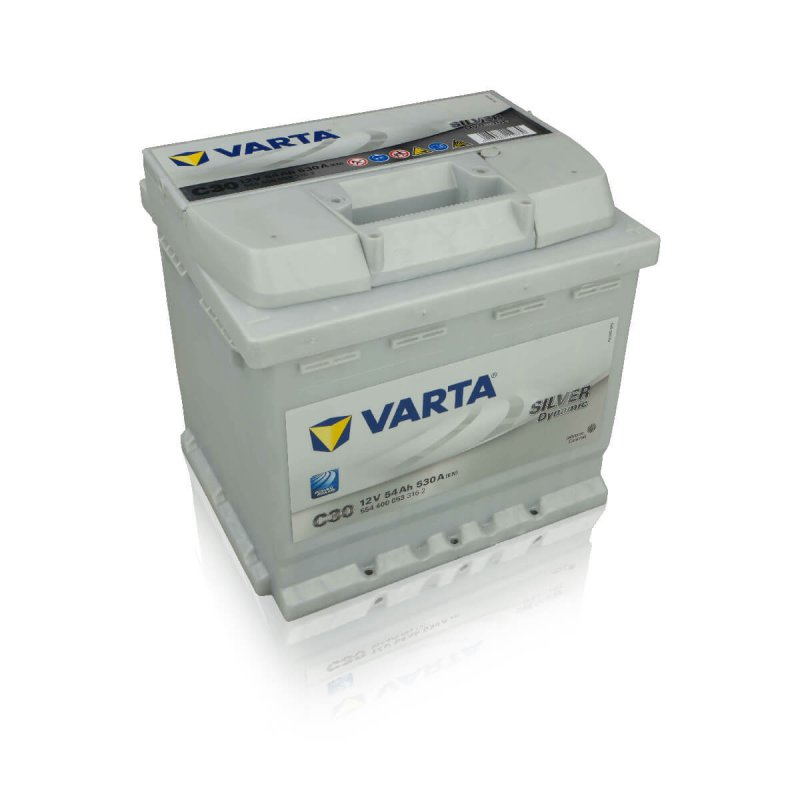 varta autobatterie silver dynamic c30 54ah. Black Bedroom Furniture Sets. Home Design Ideas