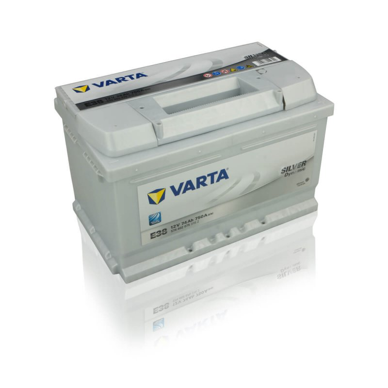 varta autobatterie silver dynamic e38 74ah. Black Bedroom Furniture Sets. Home Design Ideas