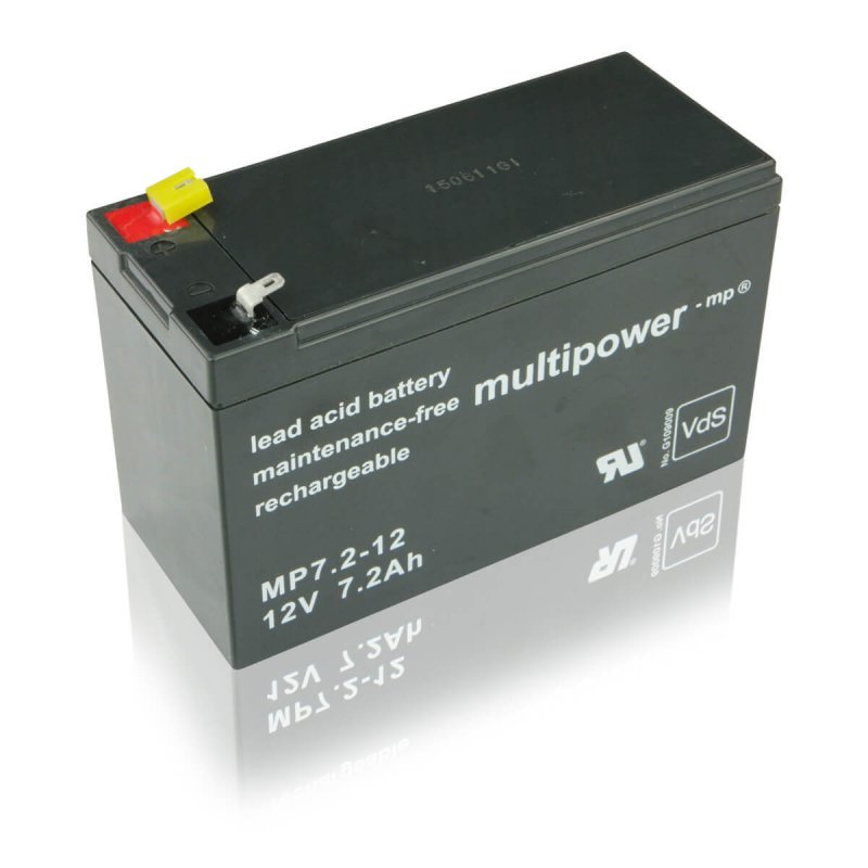 multipower MP7,2-12 7,2Ah