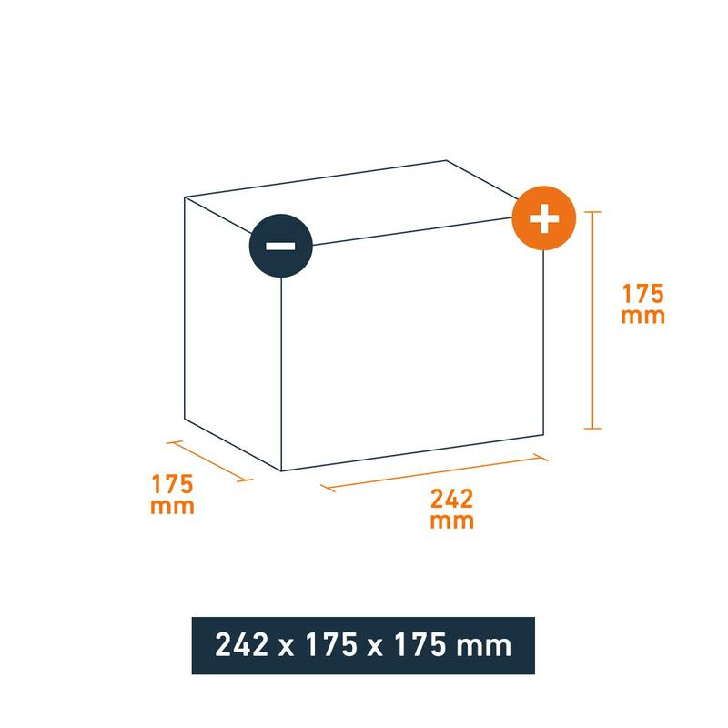 varta autobatterie silver dynamic d21 61ah. Black Bedroom Furniture Sets. Home Design Ideas