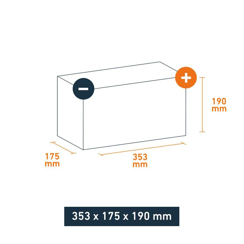 varta autobatterie silver dynamic h3 100ah. Black Bedroom Furniture Sets. Home Design Ideas