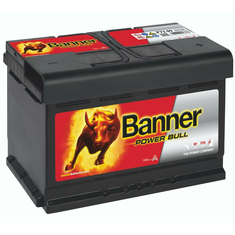 banner autobatterie power bull p7209 72ah. Black Bedroom Furniture Sets. Home Design Ideas