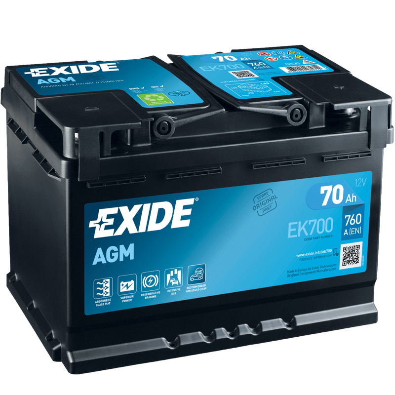 exide ek600 agm batterie jetzt online bestellen. Black Bedroom Furniture Sets. Home Design Ideas