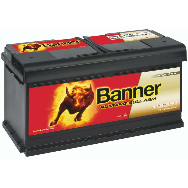 Banner Agm Batterie Running Bull 59201 92ah Vrla