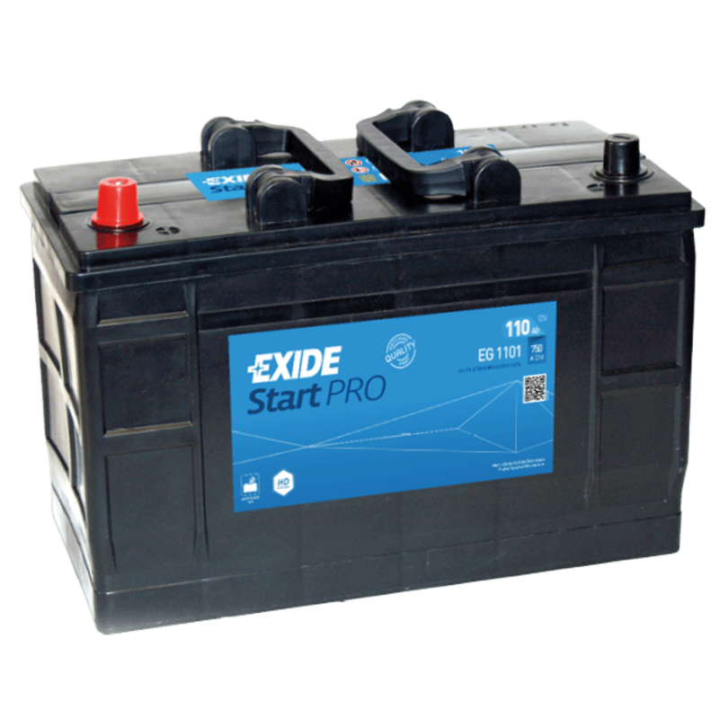 exide lkw batterie heavy professional eg1101 110ah. Black Bedroom Furniture Sets. Home Design Ideas