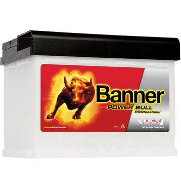 Banner P6340 Power Bull PROfessional 63Ah Autobatterie