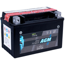 Intact Bike-Power AGM YTX9-BS 8Ah Motorradbatterie 12V...