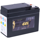 Intact Bike-Power GEL Motorradbatterie GEL12-4A-BS 2,5Ah...