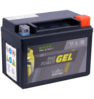 Intact Bike-Power GEL Rollerbatterie GEL12-4L-B 5Ah (DIN...