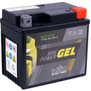 Intact Bike-Power GEL Motorradbatterie GEL12-5L-BS 4Ah...