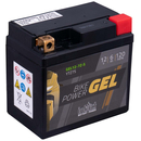 Intact Bike-Power GEL Motorradbatterie GEL12-7Z-S 6Ah...