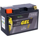 Intact Bike-Power GEL Motorradbatterie GEL12-9B-4 8Ah...
