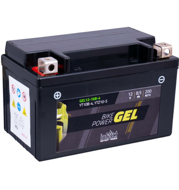 Intact Bike-Power GEL Motorradbatterie GEL12-10B-4 8,5Ah...