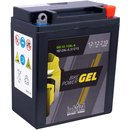 Intact Bike-Power GEL Motorradbatterie GEL12-12AL-A 12Ah...