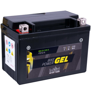 Intact Bike-Power GEL Motorradbatterie GEL12-12Z-S 11Ah...