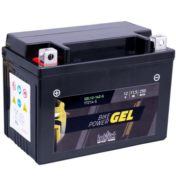 Intact Bike-Power GEL Motorradbatterie GEL12-14ZS 11.5Ah...