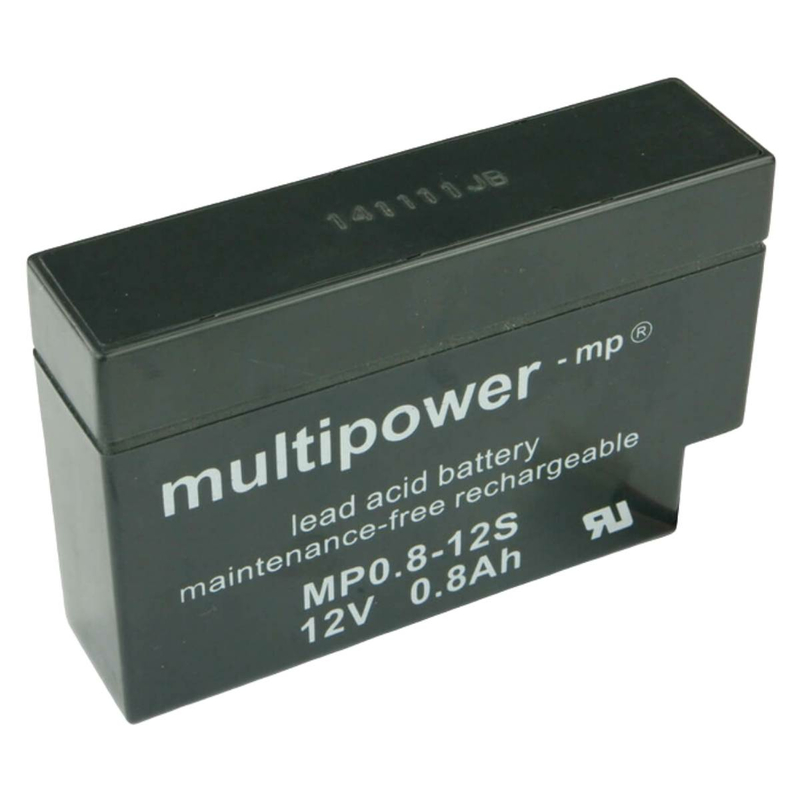 multipower MP0,8-12S JST-Stecker 0,8Ah