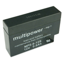 multipower MP0,8-12 AMP-Stecker 0,8Ah