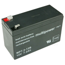multipower MP7,2-12B 12V 7,2Ah Bleiakku