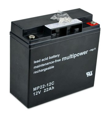 multipower MP22-12C 22Ah Bleiakku