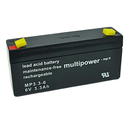 multipower MP3,3-6 6V 3,3Ah