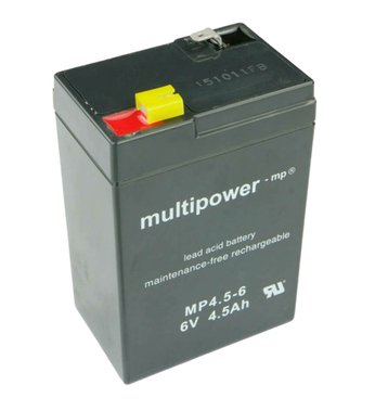 multipower MP4,5-6 6V 4,5Ah Bleiakku