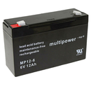 multipower MP12-6 6V 12Ah