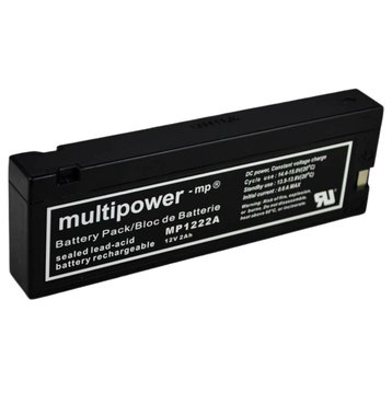 multipower MP1222A 12V 2Ah Bleiakku