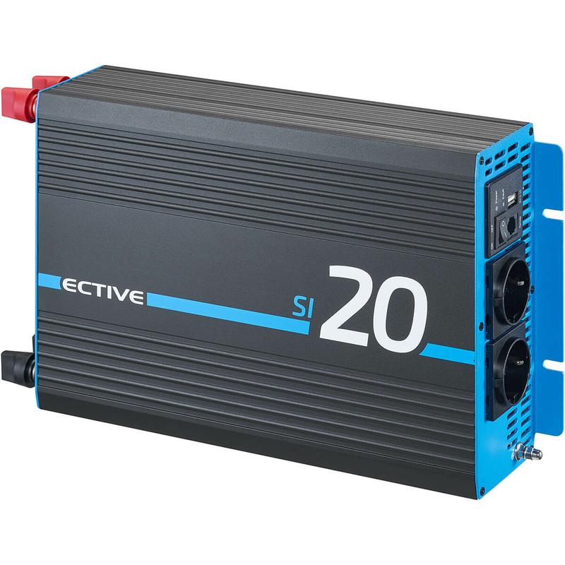 ective si202 sinus inverter 2000w 12v sinus wechselrichter. Black Bedroom Furniture Sets. Home Design Ideas