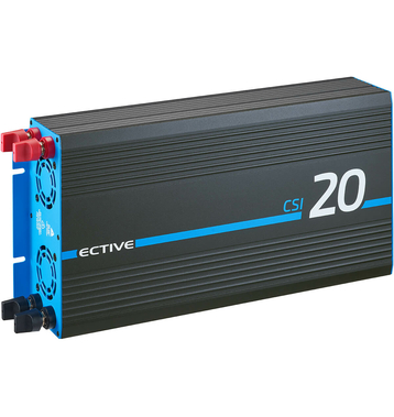 ECTIVE CSI204 Sinus Charger-Inverter 2000W/24V...