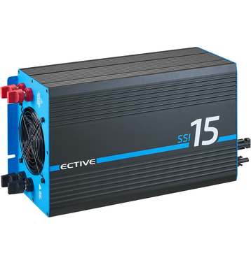ECTIVE SSI154 4in1 Sinus-Inverter 1500W/24V...