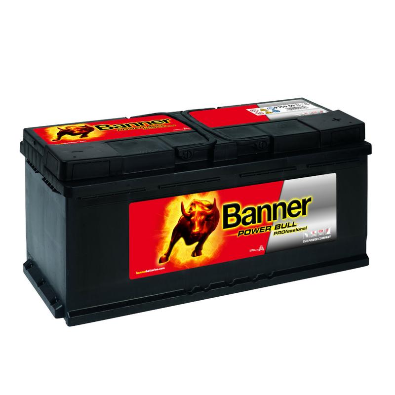 banner autobatterie power bull professional p11040 110ah. Black Bedroom Furniture Sets. Home Design Ideas