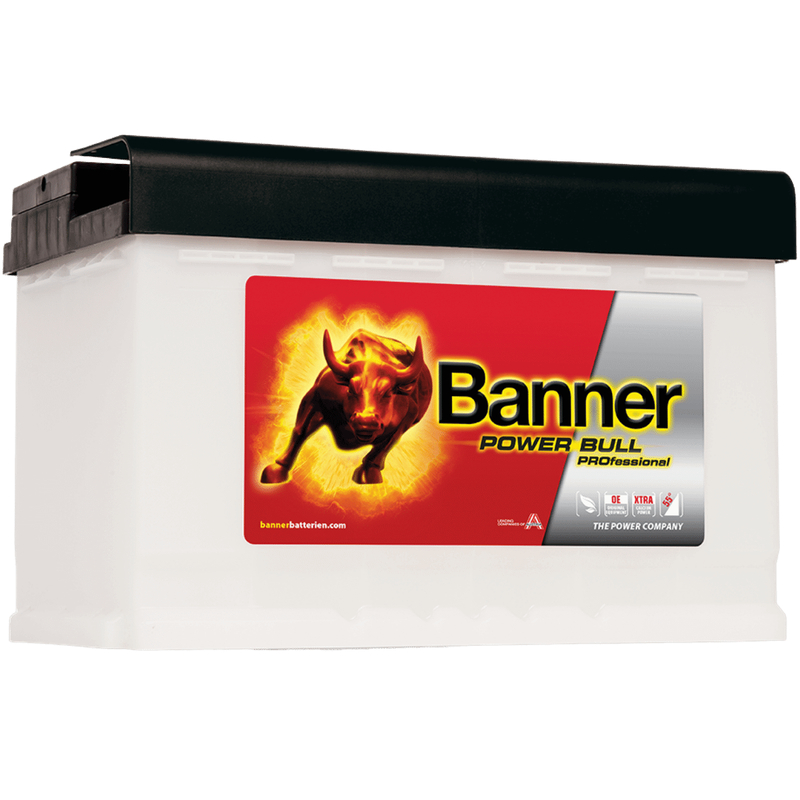 Banner P7740 Power Bull PROfessional 77Ah Autobatterie