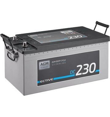 ECTIVE DC 230 AGM Deep Cycle 230Ah Versorgungsbatterie
