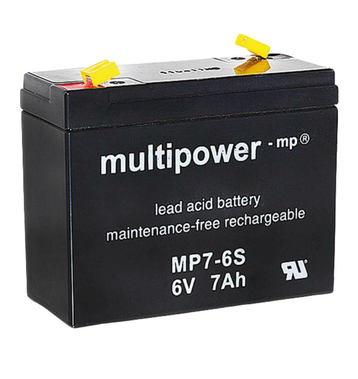 multipower MP7-6S 6V 7Ah Bleiakku