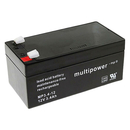 multipower MP3,4-12 12V 3,4Ah Bleiakku