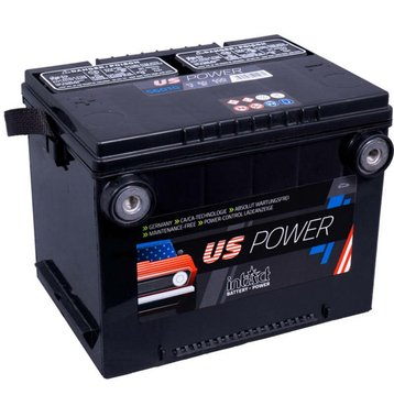 Intact US-Power 56010 60Ah Autobatterie US Cars - Pole vorne
