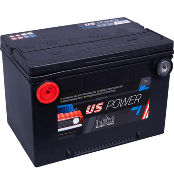 Intact US-Power 57010 70Ah Autobatterie US Cars - Pole vorne