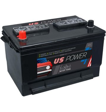 Intact US-Power 58010 80Ah Autobatterie US Cars