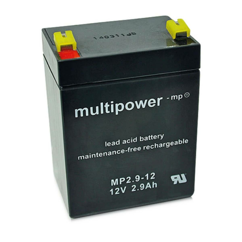 multipower MP2,9-12 2,9Ah