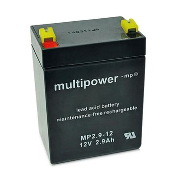 multipower MP2,9-12 12V 2,9Ah Bleiakku